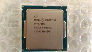 Processeur Intel Core i7-6700K , 4 GHz (Maxi Turbo 4.20 GHz) , 8MB , Socket 1151