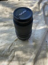 Sigma Zoom Camera Lens 100-300mm 1:4.5-6.7 DL For Canon, Pre Owned