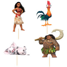 24 pieces Moana cake cupcake toppers 24pcs