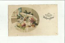 137046 cartolina auguri augurale buon natale frohliche weinhacht
