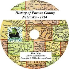 1914 History & Genealogy of FURNAS County Nebraska NE