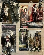 mcfarlane, Spawn, Neca, Voodoo Queen, Castlevania,Bethany Bled,  Red Riding Hood