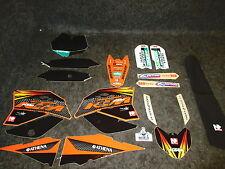KTM SX65 2009-2012 N-Estilo Fábrica de equipo Gráficos + Funda De Asiento Kit GR1045
