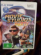 Movie Studios Party -  NINTENDO WII - FREE POST