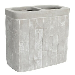 Avalon Bath Accessory Collection Concrete Bathroom Toothbrush Holder