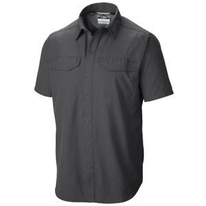 "New Mens Columbia ""Silver Ridge"" Vented Omni-Wick Short Sleeve Shirt Big&Tall"