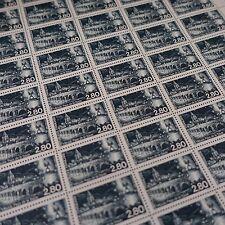 FEUILLE SHEET SELLO PAÍSES DE LA SAULX / MEUSE Nº2892 x50 1994 NEUF LUXE MNH