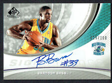 Brandon Bass #SIG-BB signed autograph 2005 Upper Deck Game Used Edition 25/100