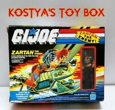 GI Joe ZARTAN 1984 MIB *Italian Vintage New Factory Sealed Figure & Swamp Skier