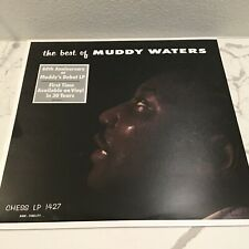 """MUDDY WATERS Vinyl """"best of"""" (SEALED w/hype) 1st album 60th Anniversary edition"""