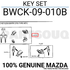 BWCK09010B Genuine Mazda KEY SET BWCK-09-010B