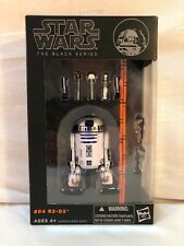 Hasbro Star Wars The Black Series: R2-D2 Action Figure 6 inch R2D2 NIB Japanese