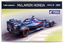 Ebbro 20020 McLAREN HONDA MP4-31 2016 Late Season 1/20 scale plastic model kit