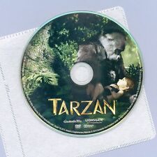 Tarzan 2013 PG animated movie, DVD disc&sleeve, Greystoke, Jane, jungle gorillas