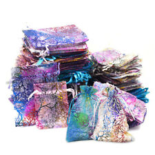 "50/100x Coralline Organza Jewelry Pouch Wedding Party Favor Gift Bag 4""x6"" 5""x7"""