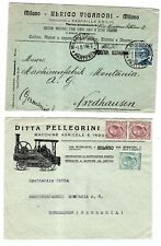 C909 Italy farming machinery agriculture topical pictorial  antique tractor ps