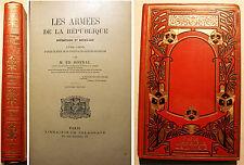REPUBLIQUE/ARMEES DE LA../1792-1800/ED.BONNAL/ED DELAGRAVE/VERS 1900