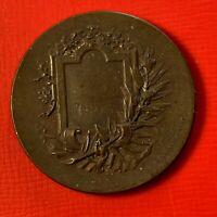 #4948 - Médaille  La course signée Rivet 1895