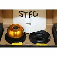 STEG NT-25 COPPIA DI TWEETER 160 Watt RMS e 112 dB SPL di efficienza TW AUTO