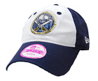 Buffalo Sabres New Era 9FORTY Women's Glimmer NHL Hockey Adjustable Cap Hat OSFM