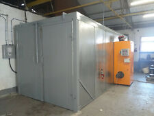 Powder coating cure oven - powder coating plant and equipment