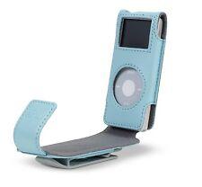 Belkin Leather Flip Case for Ipod Nano 1G 2G 1st 2nd Gen Blue F8Z059-blu