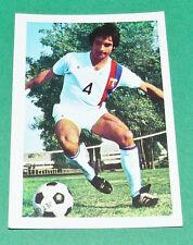 N°88 JEAN BAEZA AGEDUCATIFS FOOTBALL 1971-1972 OLYMPIQUE LYON OL GERLAND PANINI