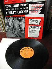CHUBBY  CHECKER YOUR TWIST PARTY  PARKWAY 7007 ORIGINAL