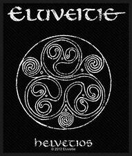 Eluveitie Helvetios Aufnäher  [SP2592]Eluveitie Patch gewebt & Lizenziert !!!