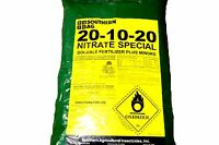 20-10-20 Nitrate Special Water Soluble Fertilizer Plus Minors - 25lb Bag