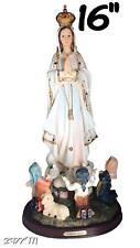 Our Lady Of Fatima Statue Religious Figurine Virgin Mary 16""