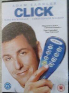 CLICK  - REGION 2 DVD  - (TR1)