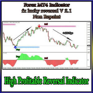 High Accurate Forex Indicator mt4 System FX Lucky Reversal V 2.1 Indicator