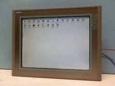 Siemens 6AV6 644-0AB01-2AX0 MP 377 15 Touch Panel 6AV6644-0AB01-2AX0 E-Stand 13