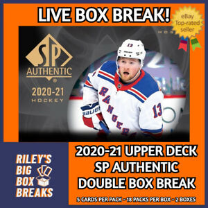 2020-21 SP AUTHENTIC DOUBLE HOBBY BOX BREAK #171 - PICK YOUR OWN TEAMS!