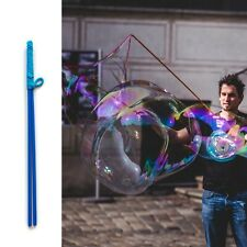 Blue Bubble Sticks - Big Bubbles, Hand Made Wand Bubble Maker colorful charming