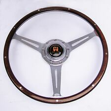 "Wolfsburg Steering Wheel Wood Rim Splitscreen VW Bus Camper Type 2 16"" T2 AAC173"