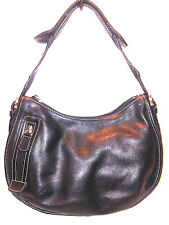 WILSONS Womens Black Leather Purse Hand Bag  Medium                         A226