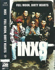 INXS ‎Full Moon, Dirty Hearts CASSETTE ALBUM USA issue Atlantic ‎825414 Pop Rock