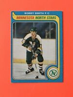 Bobby Smith 1979-80 NICE ROOKIE O-Pee-Chee NHL Hockey Card #206  SEE PHOTOS