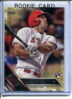 2016 Topps Update Scott Schebler Serial #d /2016 SP Gold Foil Rookie RC Reds #73