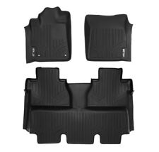 Maxliner 14-20 Fits Toyota Tundra Crewmax Floor Mats Coverage Under 2nd Row Seat