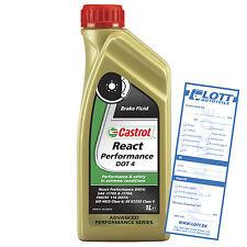CASTROL Bremsflüssigkeit React Performance DOT 4 1 Liter  für Hochleistungsfahrz