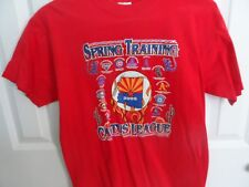 Men's size Medium Spring Training Cactus League 2005 Team Logos