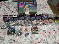 Masters Of The Universe Loyal Subjects Lot 12 figures 14+ weapons motu he-man