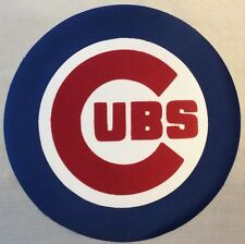 """HUGE CHICAGO CUBS IRON-ON PATCH - 7.5"""""""