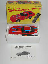 1980's Radio Shack Corvette Radio Control RC CAR w/Box No. 60-3082 ~ Fast Ship ~
