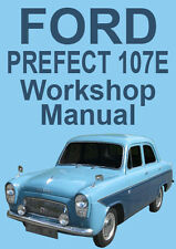 FORD PREFECT 107E WORKSHOP MANUAL: 1959-1961
