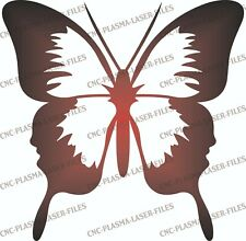 BUTTERFLY DXF Sign Plasma Laser Waterjet Router Plotter Cut Vector CNC
