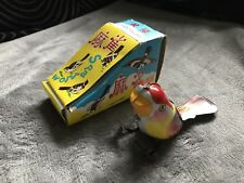 Vintage Wind-up/Clockwork Sparrow Boxed RARE